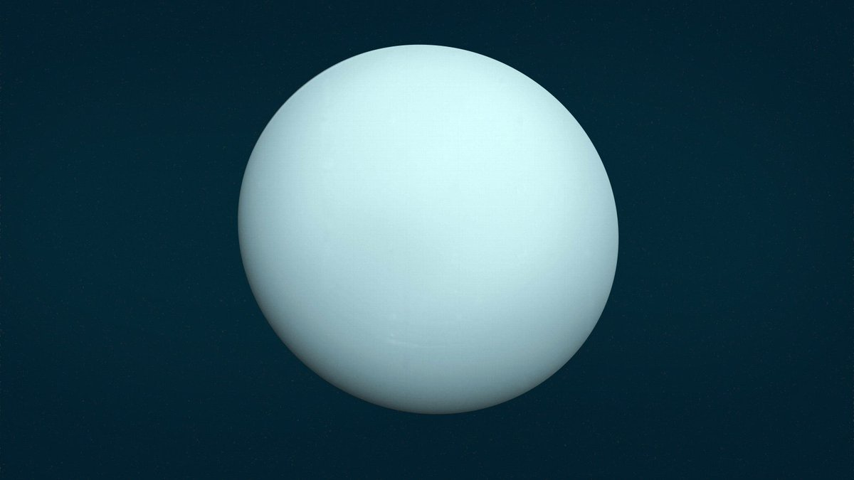 Uranus was slammed by an object twice the size of Earth https://t.co/LQXBnH4GiW