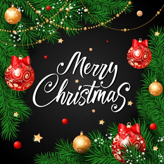 May this Christmas end the present year on a cheerful note. Wishing you all a #MerryChristmas 😁