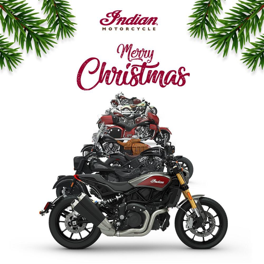 "Indian Motorcycle IN on Twitter: ""Indian Motorcycle India wishes you a  Merry Christmas! May every journey you take on your Indian be full of joy,  passion and excitement. #merrychristmas🎄 #christmas2018 #santa  #indianmotorcycleindia #"