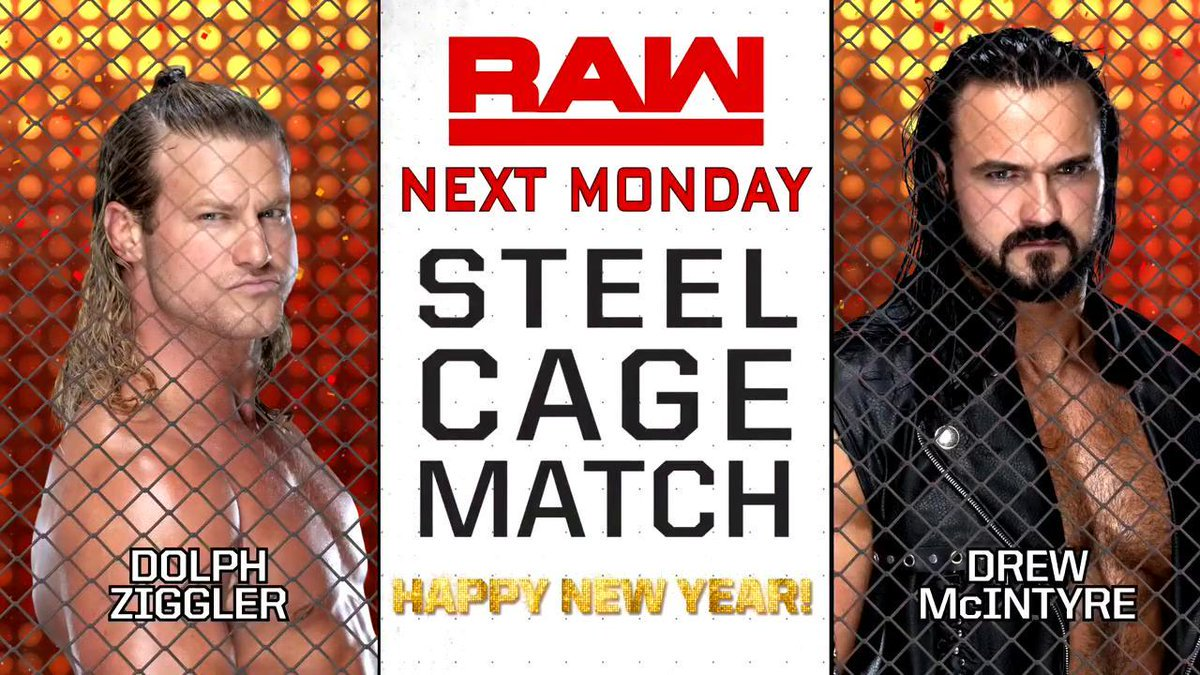 ** SPOILERS ** For Monday's WWE RAW On NYE