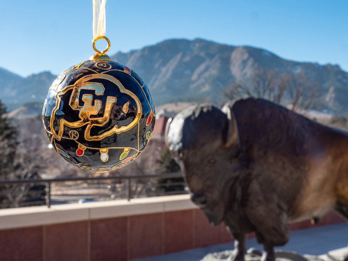 University of Colorado Buffalos Christmas Ornament