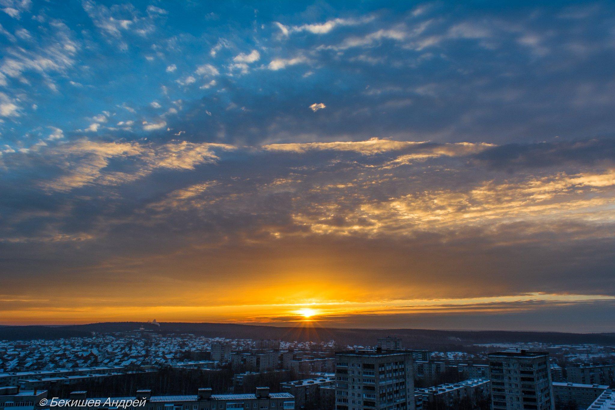 где фотографировать восход в перми являются