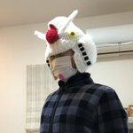 手編みのガンダムヘッド感覚で作っちゃうとか凄すぎ