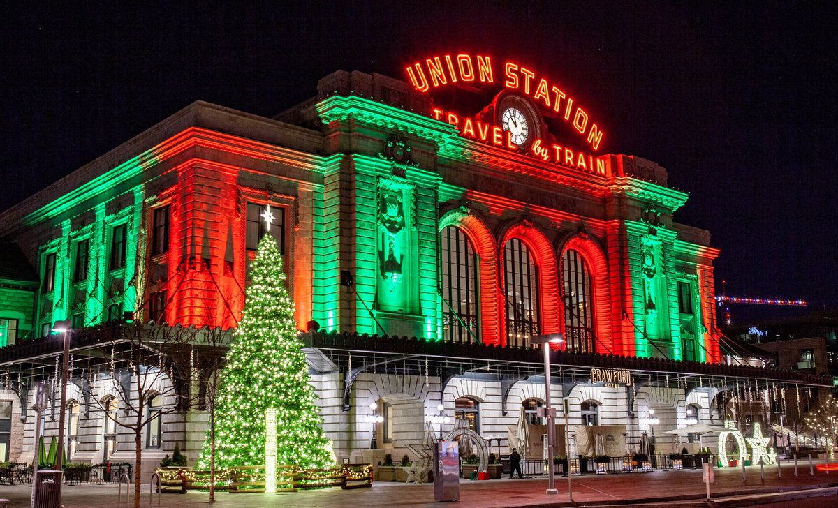 Christmas In Denver Colorado.Anthony Quintano On Twitter Christmas Eve In Downtown