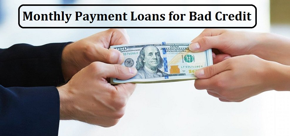 Loans For Bad Credit With Monthly Payments >> Monthly Payment Loans Monthly Loansus Twitter
