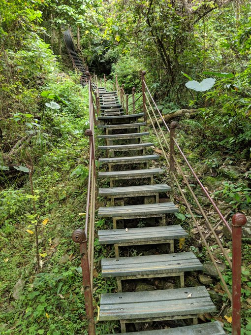 Trail in Taroko National Park