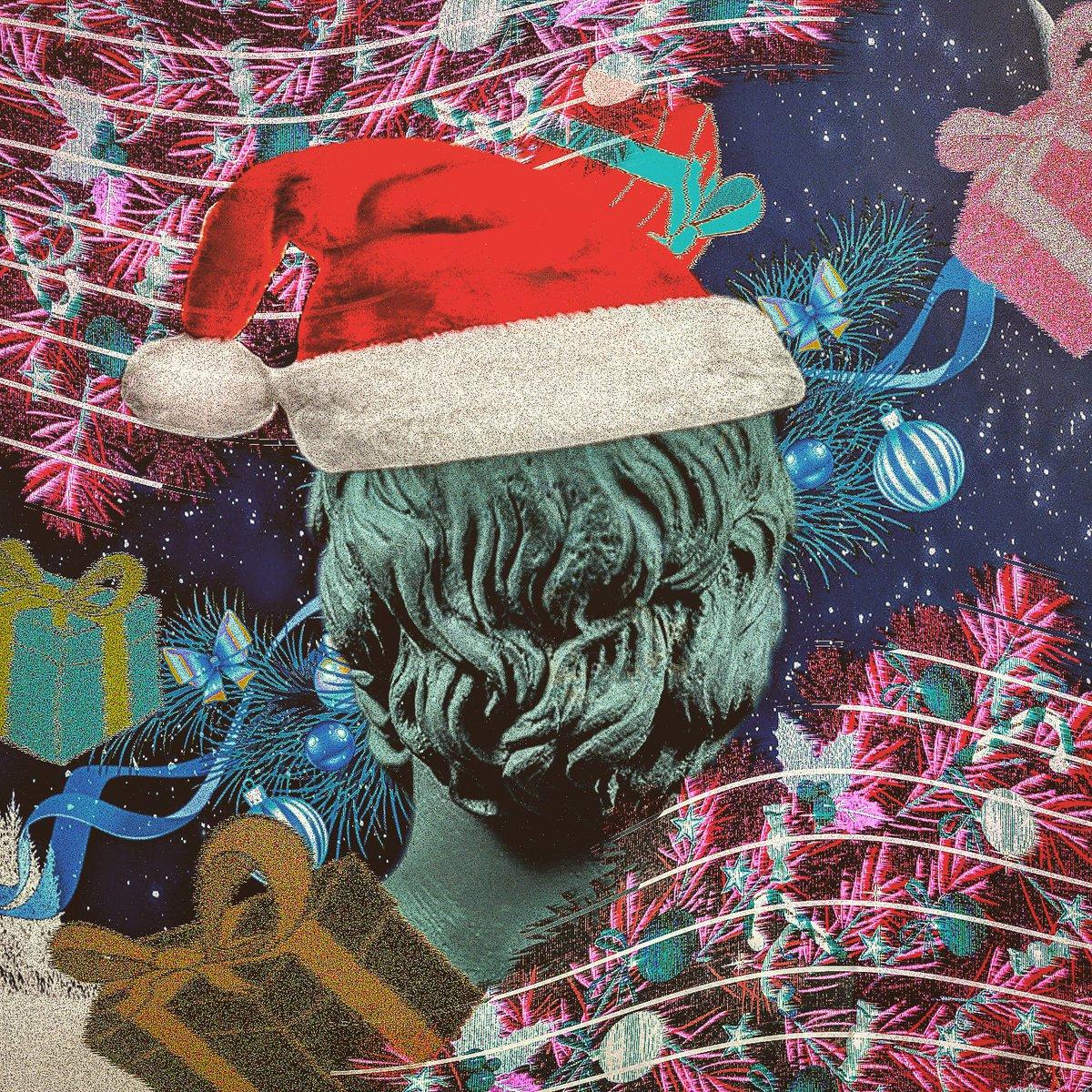 Vaporwave Christmas Sweater.Einthemidle On Twitter Merry Vaporwave Christmas Ugly