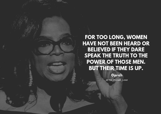 Oprah 12 Days Of Christmas.The Female Lead On Twitter We End Our 12 Days Of Christmas