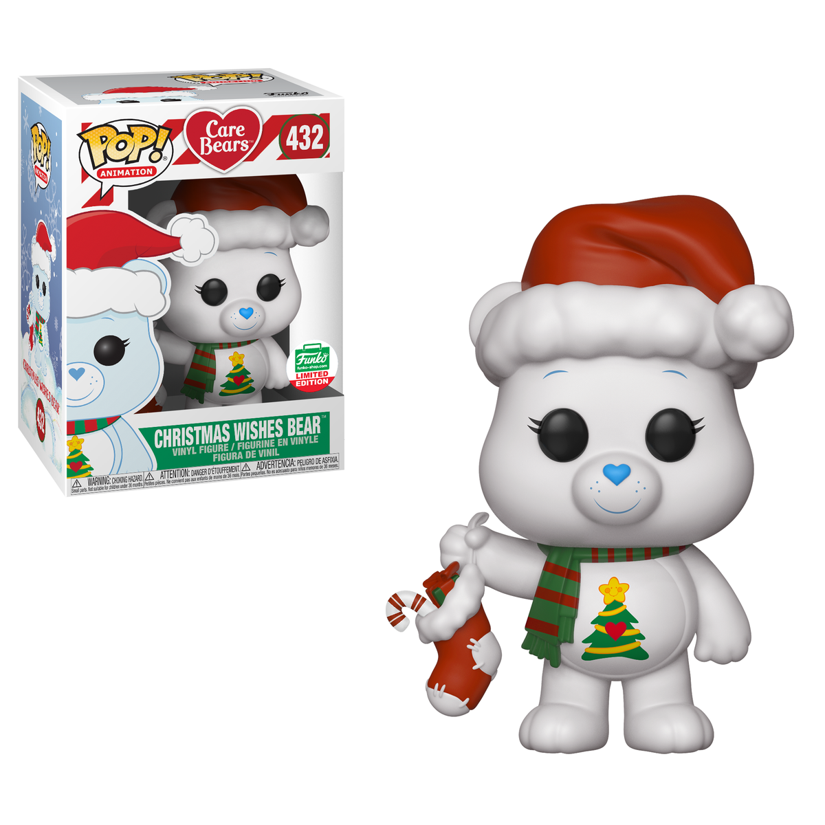 RT & follow @OriginalFunko for the chance to win a Funko Shop exclusive Christmas Wishes Care Bear Pop!