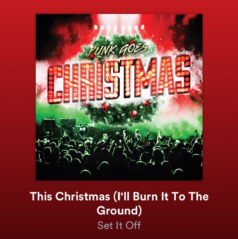 This Christmas I Ll Burn It To The Ground.Set It Off On Twitter Merry Throwback