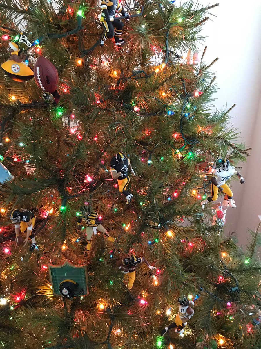 A Merry Hallmark Steelers Christmas to all!