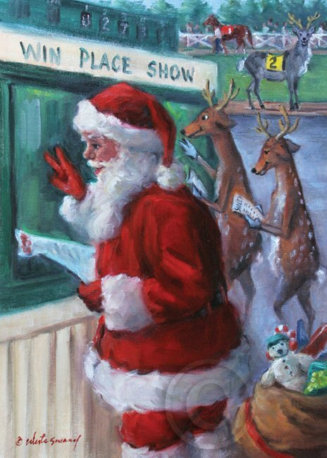 Christmas Horse Racing.Horse Racing Fansite On Twitter Merry Christmas Happy
