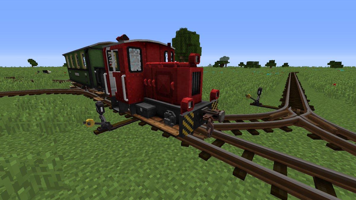 мод на майнкрафт 1.7.10 на поезда #8