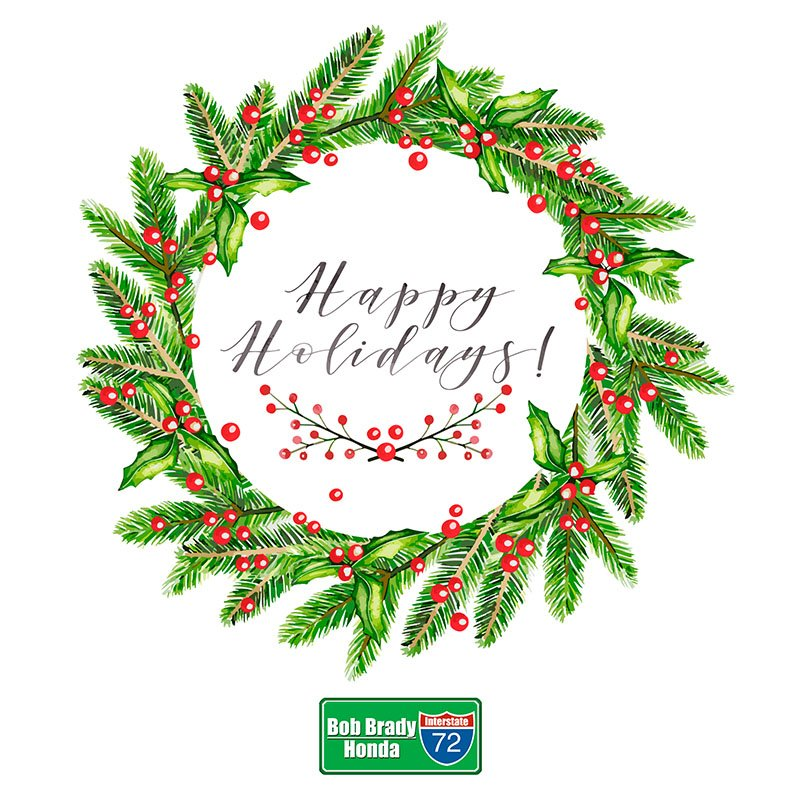 Bob Brady Honda On Twitter Happy Holidays From The Bobbradyhonda