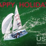 Image for the Tweet beginning: Happy Holidays from the #USSailingTeam!