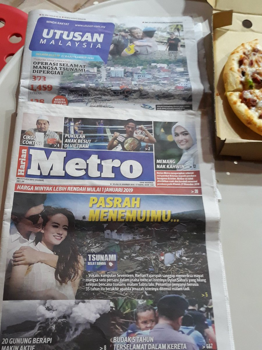 Mrs Sabrina On Twitter Headline Koran Koran Malaysia Hari Ini