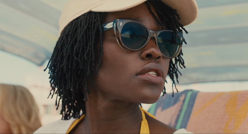 Lupita Nyong O And Winston Duke Confronted By Eerie Doppelgangers In Us Trailer