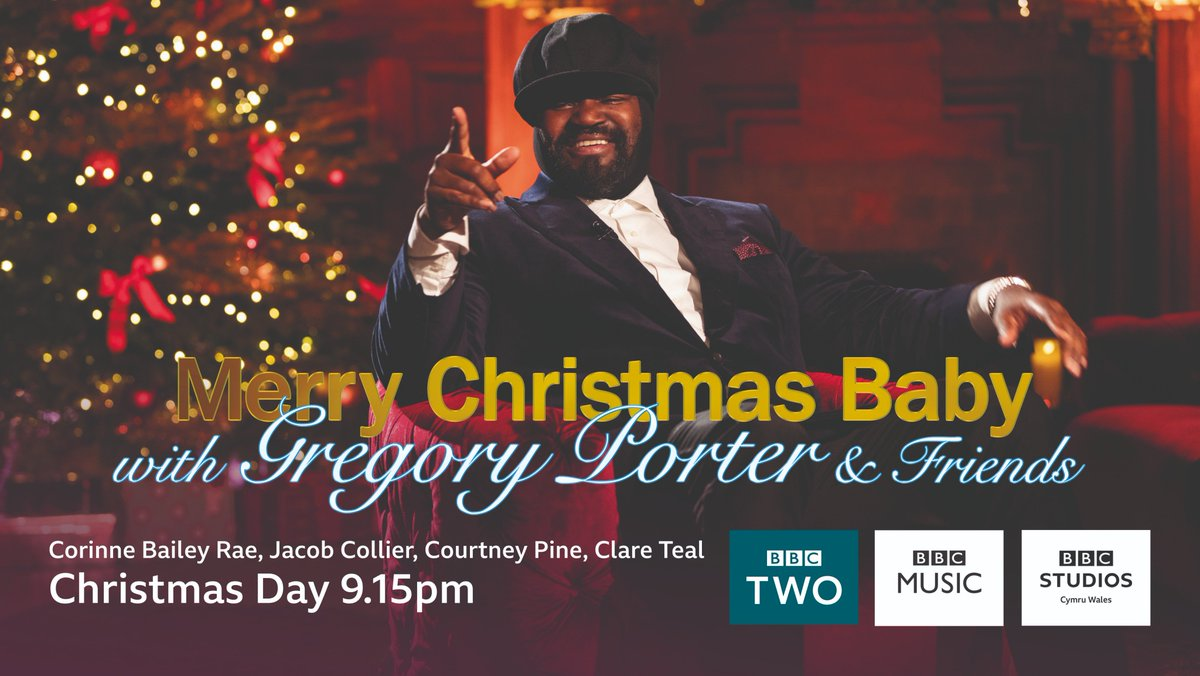 An evening of festive music with some very special guests...don't miss #MerryChristmasBaby TONIGHT at 9.15pm on @BBCTwo 🎄📺  http://bbc.in/2EIdcGP