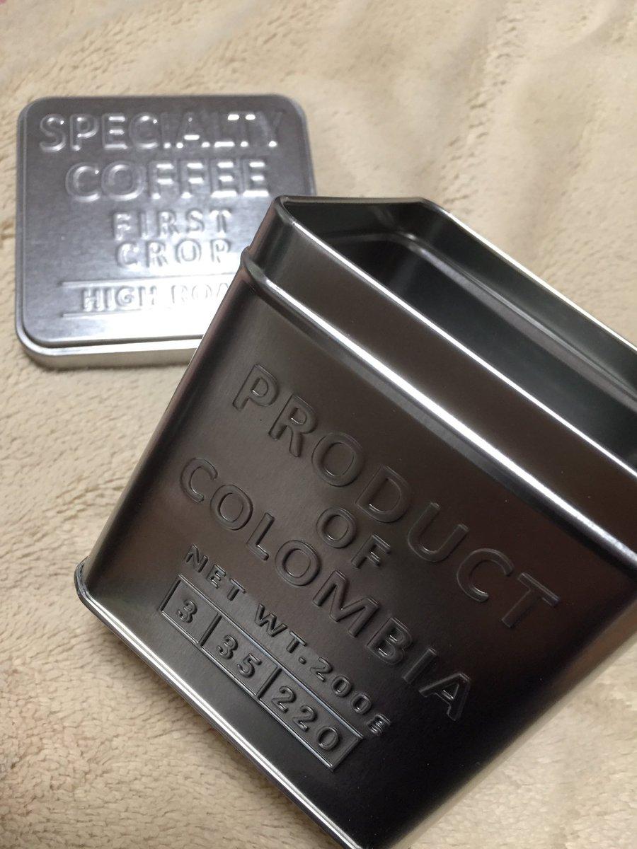 test ツイッターメディア - seriaでイケてるブリキ缶見つけた。 オシャレやな。  #seria  #百均  #ブリキ缶 #おしゃれ  #コーヒー入れるやつ? https://t.co/fYc21AIV94