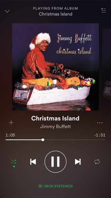 Merry Christmas to all, but mostly happy birthday to jimmy buffett