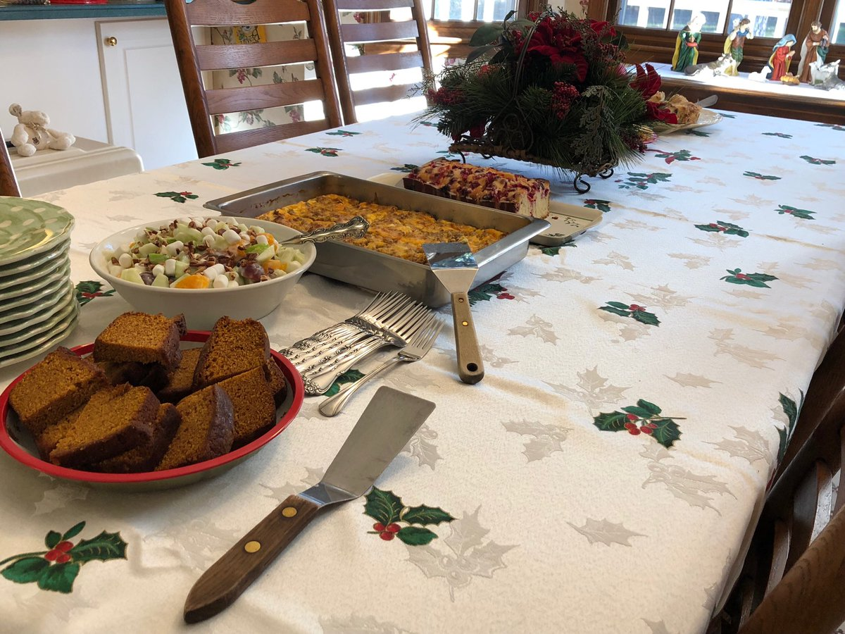 Great looking spread for #ChristmasMorning! Thanks Angela! – at Peachtree Corners