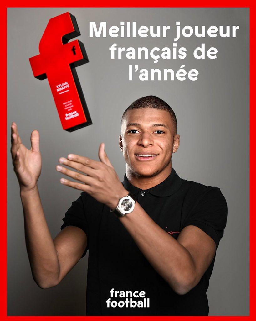 Meilleur joueur français de l'année by France Football 🏆✅