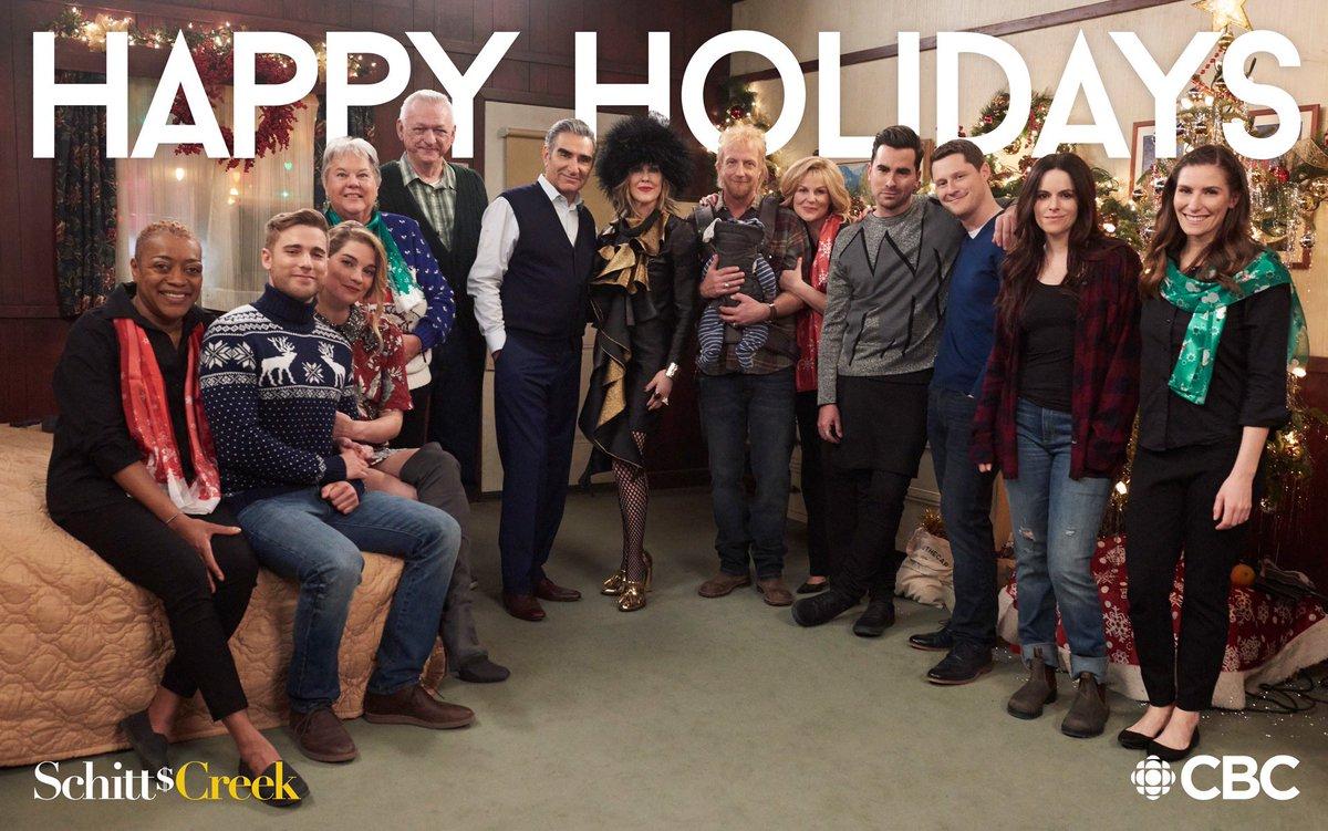 Schitts Creek Christmas Special.Schitt S Creek On Twitter From All Of Us In Schittscreek