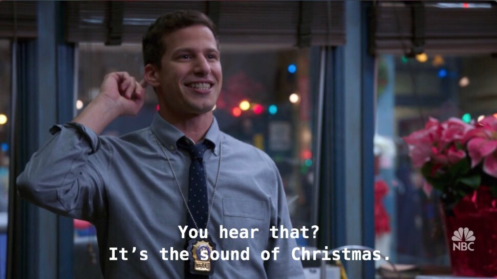 out of context brooklyn nine nine (@nocontxt99) on Twitter photo 25/12/2018 16:22:52