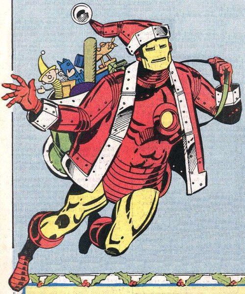 Merry Christmas from the man in the big red suit!