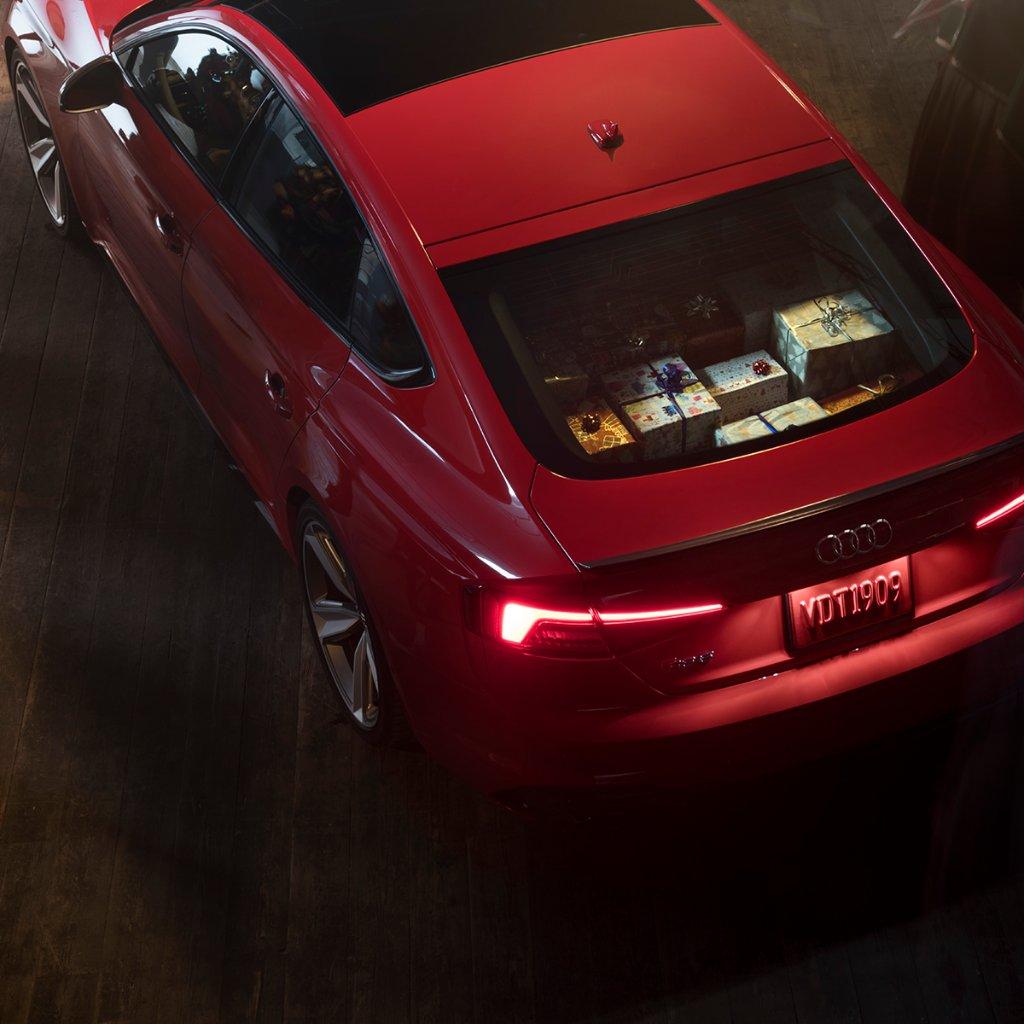 Santa's slay. #Audi #RS5Sportback