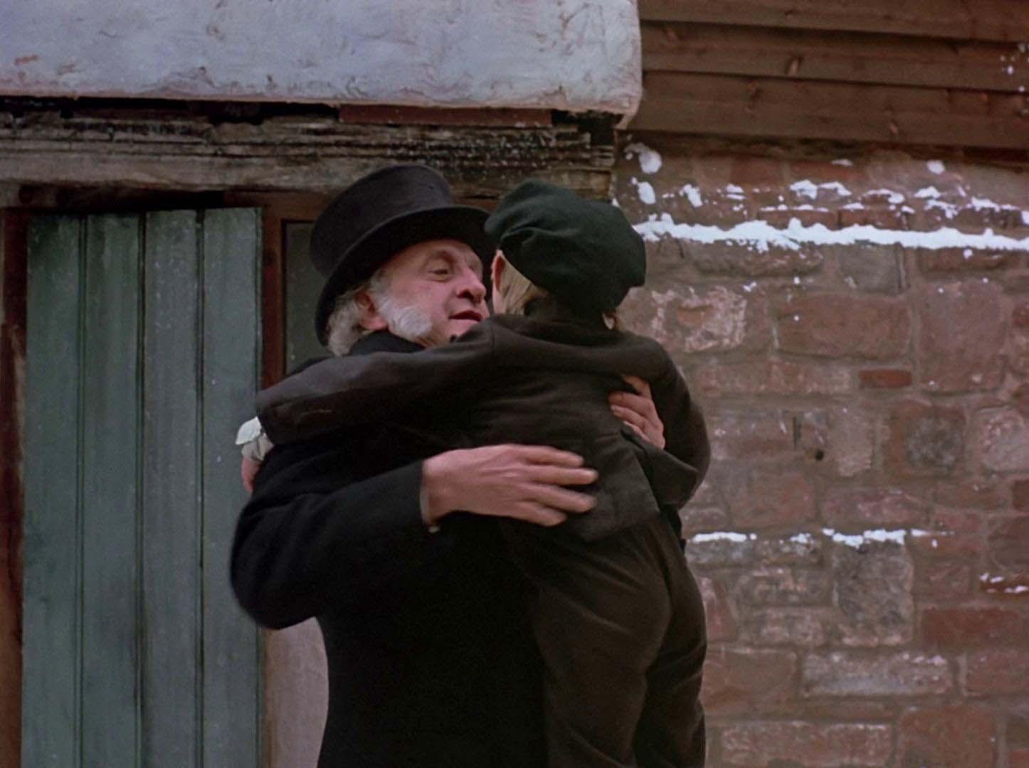 "Classicman Film on Twitter: ""'A Christmas Carol' (1984) An old bitter miser (George C. Scott ..."