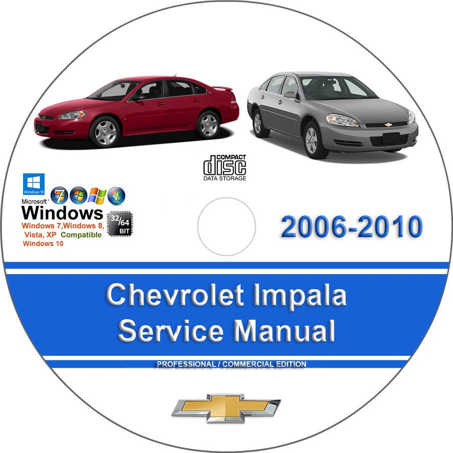 Chevrolet Impala 2006 2007 2008 2009 2010 Factory Workshop Service Repair  Manual http://