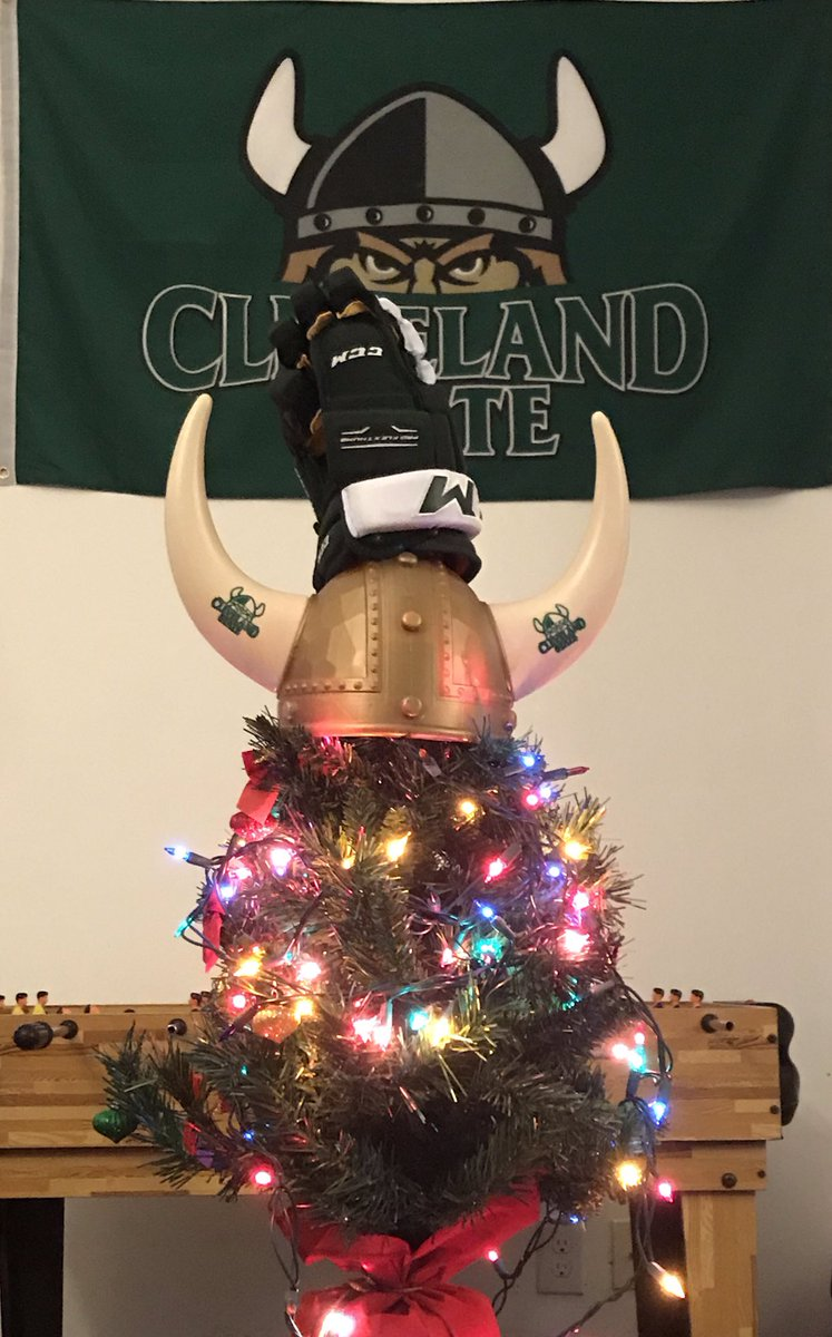 Viking Christmas.Cleveland State Vikings Hockey On Twitter Merry Christmas