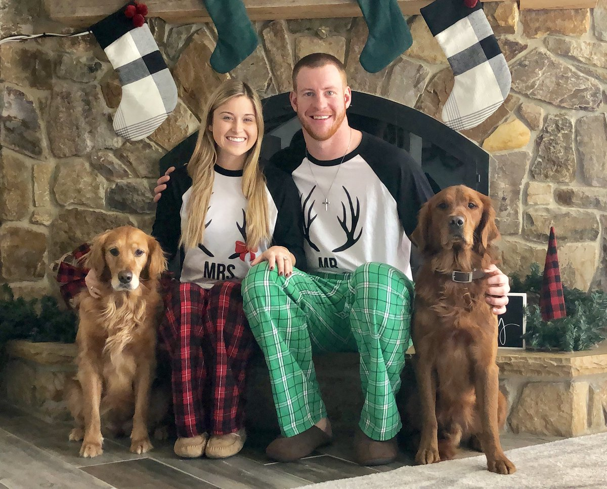 Carson Wentz On Twitter First Christmas As A Family