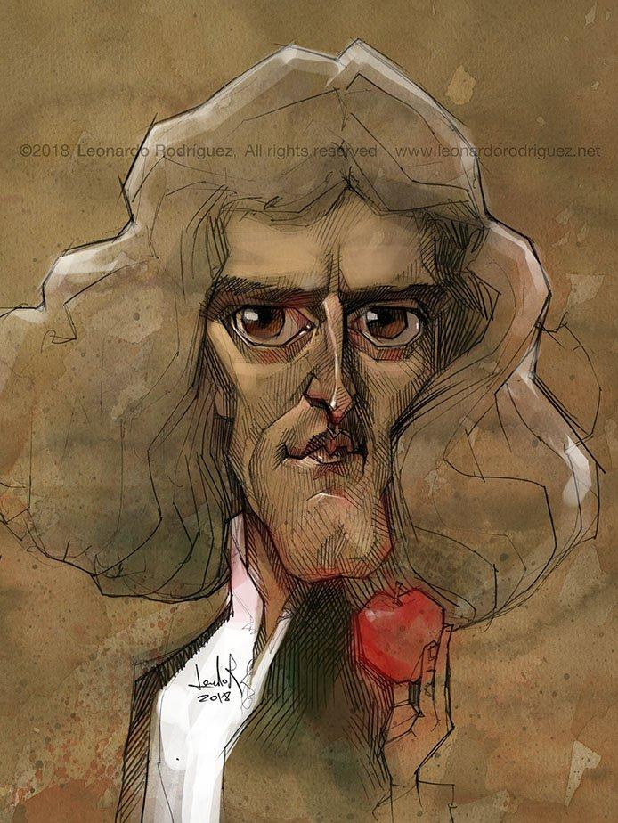 Leonardo Rodriguez On Twitter Isaac Newton Newton Isaacnewton