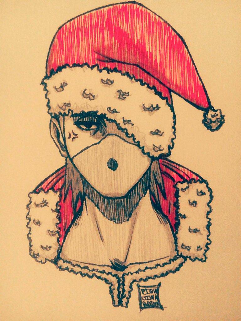 Piowjiwarudo On Twitter Hello Petit Dessin Spécial Noël
