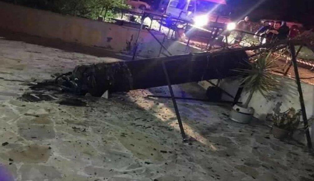 якобы израильская сбитая ракета