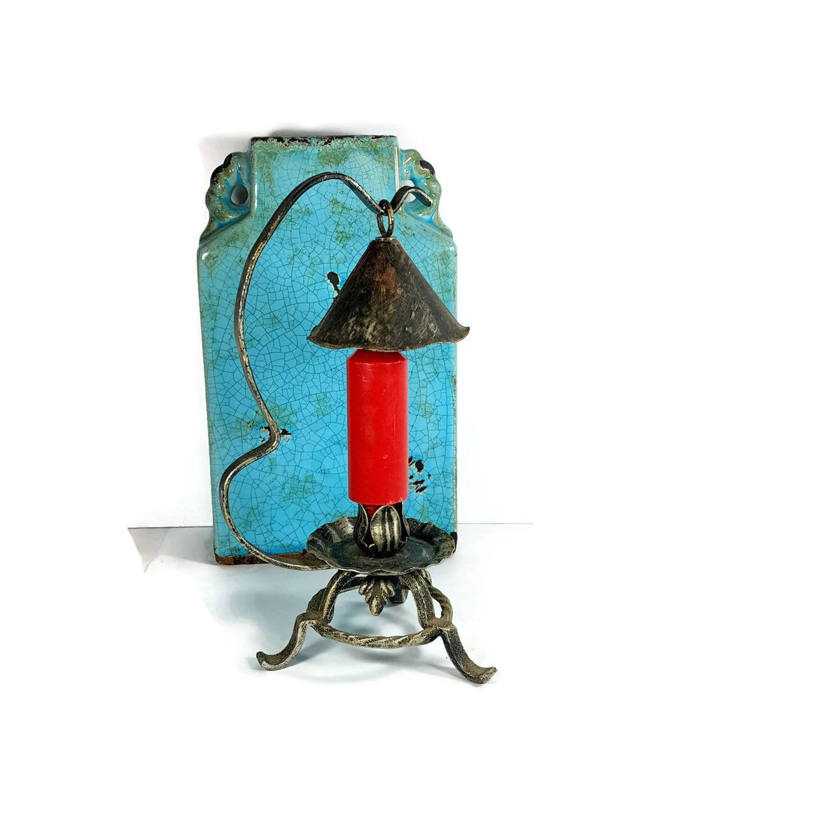 Last Tango Vintage Shop On Twitter Rustic Boho Candle Holder Vintage Bohemian Candlestick 12 Lamp Unique Candle Holder Black And Silver Primitive Style Https T Co Ggk7cco2sg Etsy Lasttangovintage Kitsch Vintage Uniquecandleholder Https T