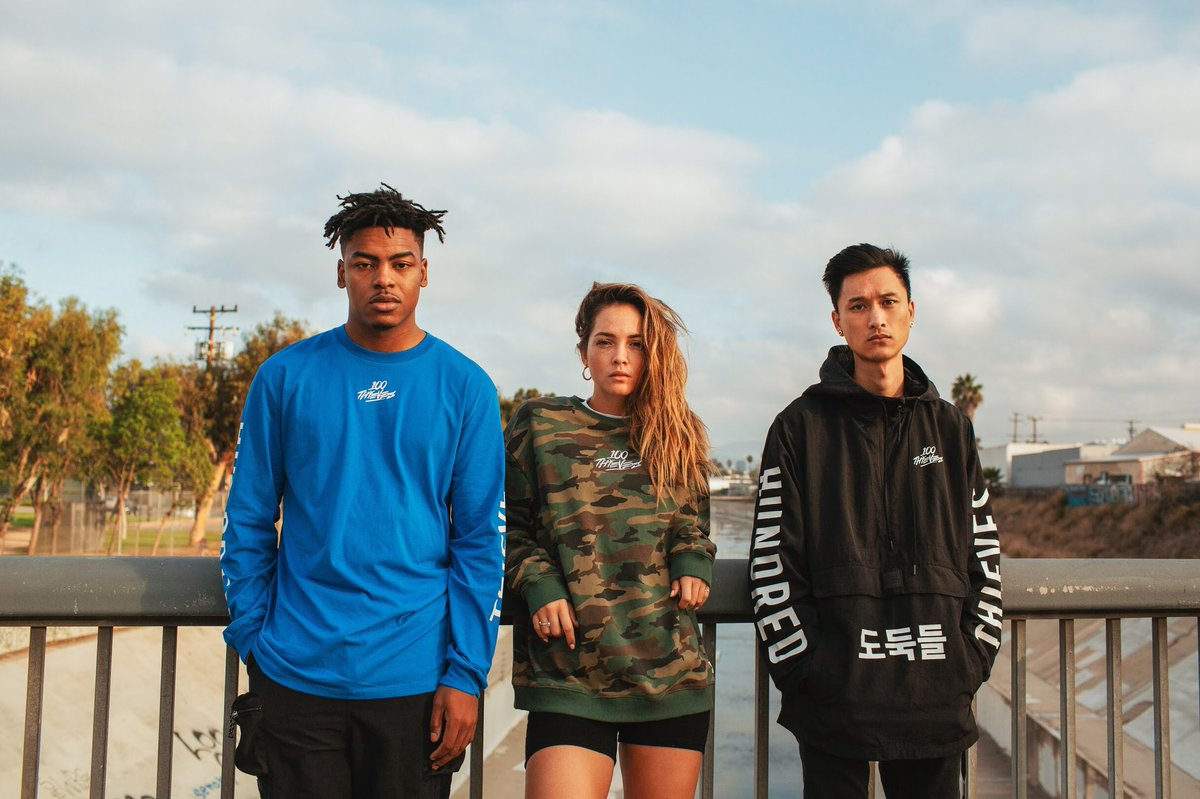 It's the holiday season so I'm going to pick two winners who will receive the full 100 Thieves 2018 Winter Collection.   HOW TO ENTER: 1) Follow @100Thieves  2) RT this tweet  Reply below when done and I'll pick the winners in the next 48 hours.