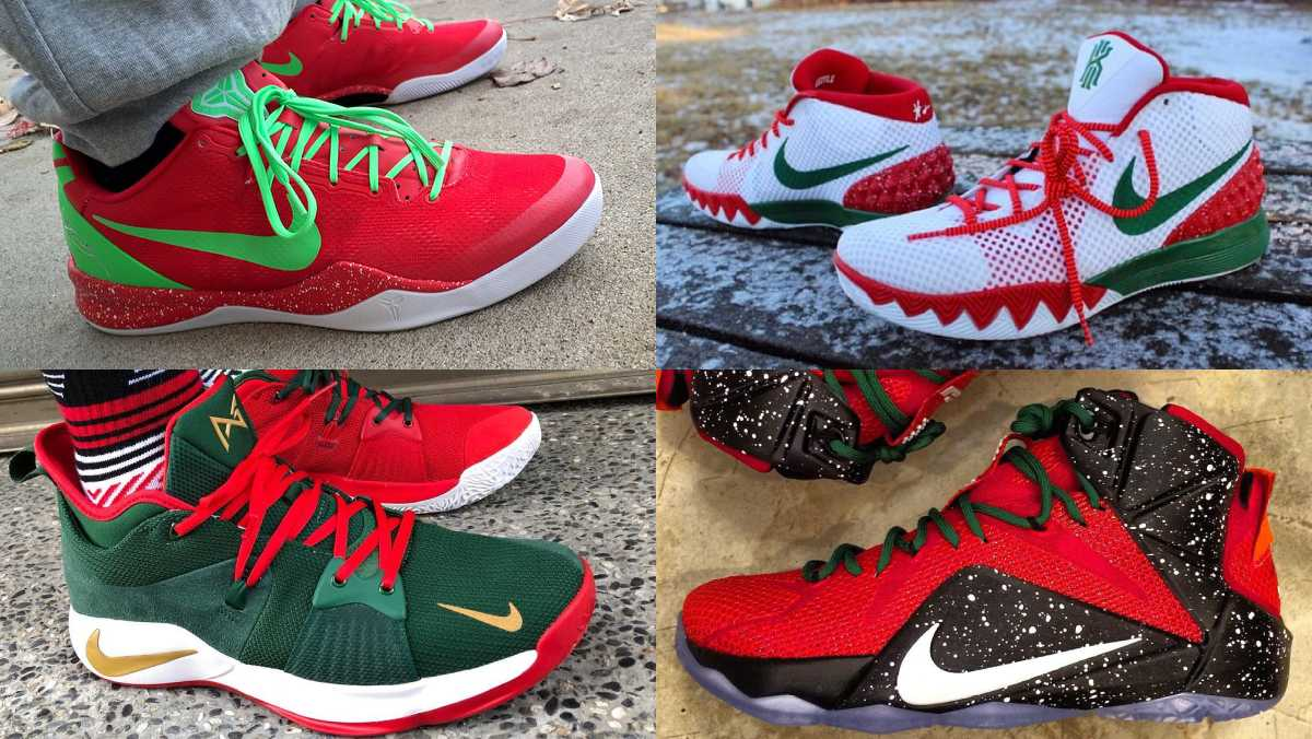 354901ea2180b The 50 best christmas-inspired nikeid designs. - scoopnest.com
