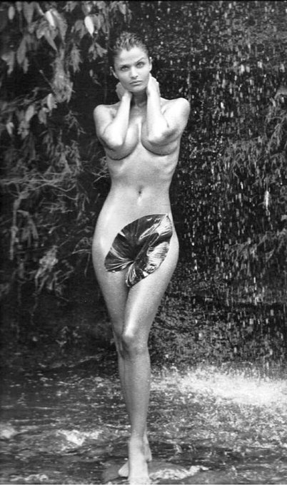 Happy Birthday to Helena Christensen who turns 50 today!  Pictured here a few years back in her birthday suit.