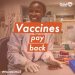 Vaccines are a great investment!   As @GaviSeth explained at #GaviMTR, the return on investment for immunisation is almost incomparable to other valuable public health and development investments - #VaccinesWork and they pay back!   #ROI #Fin4Dev