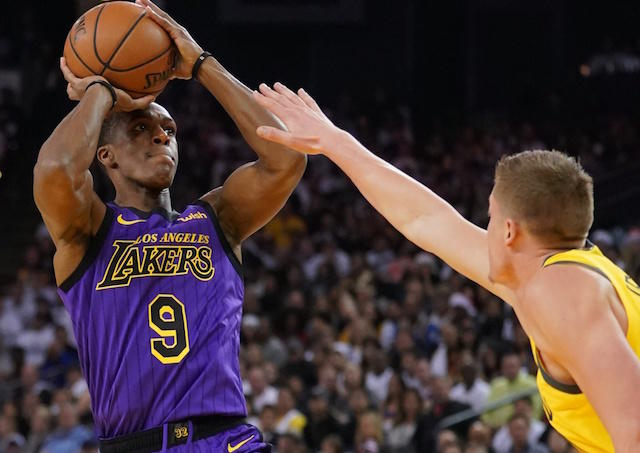 9e9cdbd17 Playoff Rondo was in full effect after the Lakers lost LeBron James