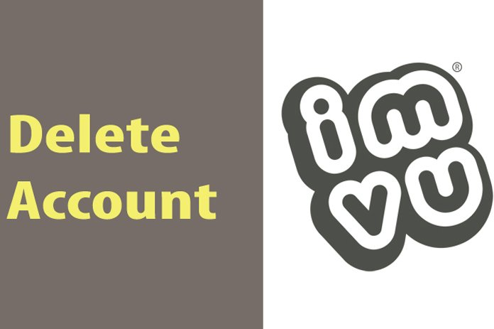 delete account imvu