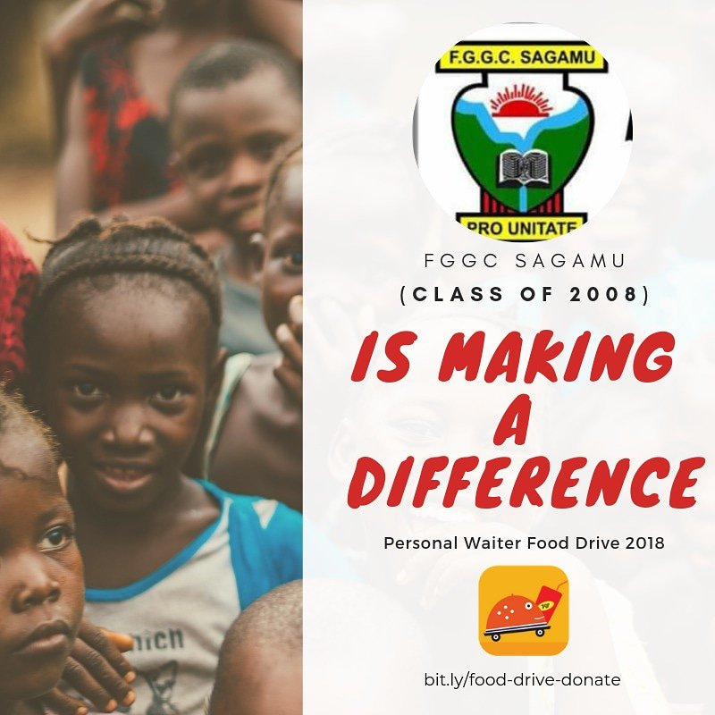 One of the greatest feelings in the world is knowing that we as individuals can make a difference. Ending hunger in Nigeria is a goal that is literally within our grasp. #PersonalWaiterFoodDrive  #PersonalWaiterAtOne  #OneCanMakeADifference <br>http://pic.twitter.com/roJc62ikqT