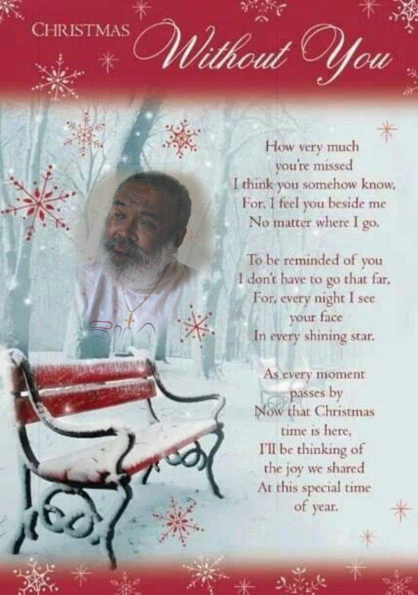 Gennarino Kastanja On Twitter Miss You Dad Eerste Kerst Zonder