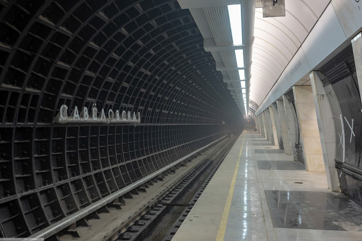 Станция метро савеловская картинки