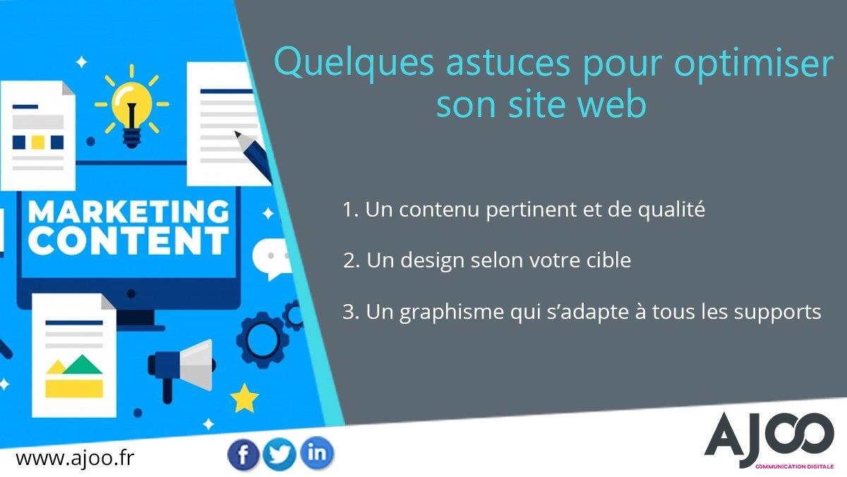 ... web est la composante la plus importante pour la visibilité de votre  entreprise Découvrez nos différentes réalisations https   www.ajoo.fr realisations   ... b668b28d78ab