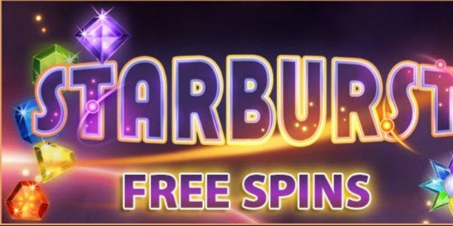 Casino starburst free spins