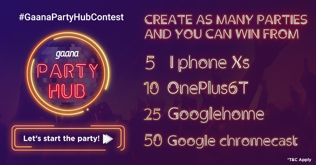 gaanapartyhubcontest hashtag on Twitter